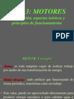 MOTORES Clasificación, aspectos teóricos y principios de funcionamiento