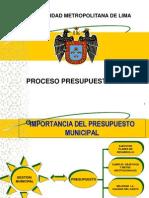 3-PROCESO PRESUPUESTARIO - MML