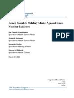 Israel Strike on Iran Study