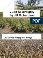 Food Sovereignty by Jill Richardson
