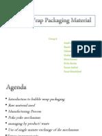 Bubble Wrap Manufacturing Process