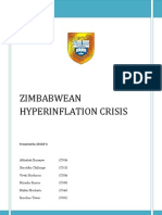 ZIMBABWEAN HYPERINFLATION CRISISfinal