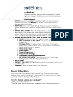 Action Planning Checklist