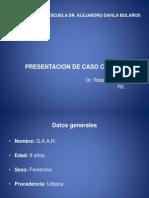 CASO CLINICO - RIÑON EN HERRADURA
