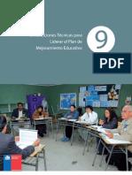 2.- Orientaciones Para Liderar El Plan de Mejoramiento Educativo