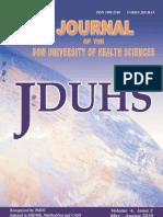Jduhs Vol 4 Iss 2