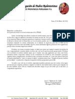 1 carta JMJ, 2013