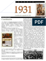 CONSTITUCIÓN1931