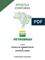 Apostila Concurso Petrobras 2011 - Técnico de Administração e Controle Jr