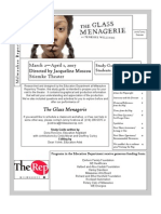 Glass Menagerie - List of References in the Play