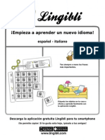 ¡Empieza a aprender! Español - Italiano