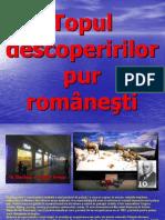 Topul descoperirilor pur româneşti