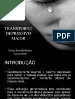 Palestra Trans Tor No Depressivo Maior