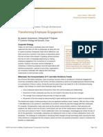 Inside Cisco IT - Transforming Employee Engagement
