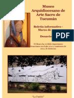 Museo Arte Sacro de Tucuman- Nuevas Donaciones