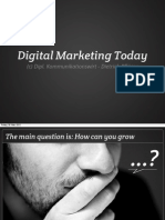 2012 Digital Marketing Today