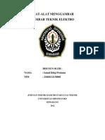 Alat-Alat Menggambar Teknik , Ismail r.p , 21060111130068