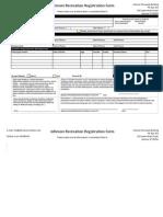 Rec Registration Form B