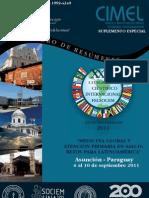 Libro de Resúmenes FELSOCEM 2011