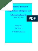 Ijciis March 2012 Vol. 3 No. 3