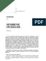 entrevista sembène ousmane