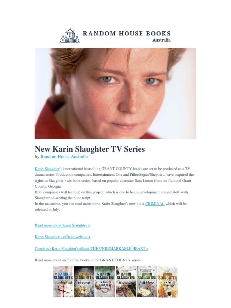 Faithless Karin Slaughter Pdf