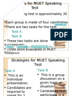 Muet Strategies