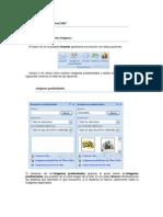 Menú insertar Word 2007