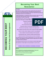 Becoming Your Best Newsletter - March 2012