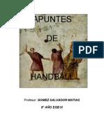 Apuntes de Handball 2011