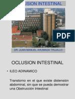 OBSTRUCCIÓN INTESTINAL (Ahumada)