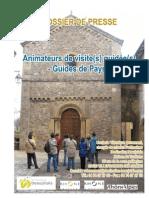 Dossier de Presse Guides de Pays 2008