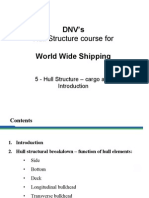 05 - DNVs Hull Str for WW - Hull Str - Cargo Area - Intro