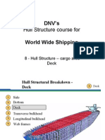 08 - DNVs Hull Str for WW - Hull Str - Cargo Area - Deck