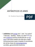 ANTIBIOTICOS VS AINES