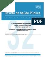 Salud Chile Dilemas Historicos Perspectivas