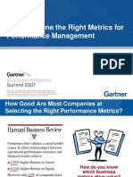 How to Define Right Metrics PerformanceMgt