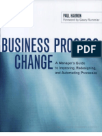 Harmon - 1st, Ed. Business Process Change, A Manager's Guide to Improving, Redisigning and Automating Processes