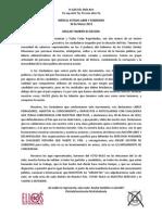 Manifiesto ANULISTAS, Elecciones 1 de Julio 2012
