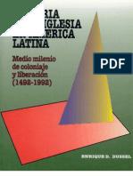 40256835 Enrique Dussel Historia de La Iglesia en America Latina