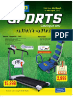 Sports Catalogue 2012