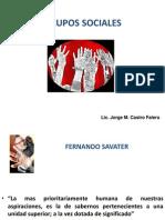CHARLA GRUPOS SOCIALES  - TRIBUS Y ESPACIOS PÚBLICOS