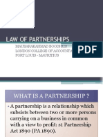 Law of Partnerships