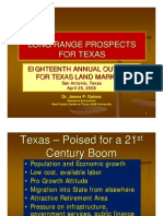 Long Range Prospects for Texas Real Estate Markets