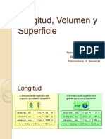 Longitud, Volumen y Superficie