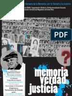 Cuadernillo de La Memoria