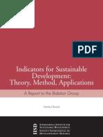 Balatonreport Indicators for Sustainable Development