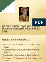 Hélène Elizabeth Louise Amélie Paula Dolores Poniatowska Amor