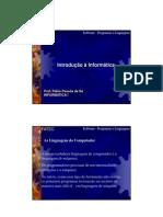 Programas e Linguagens