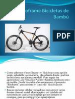 Booframe Bicicletas de Bambú